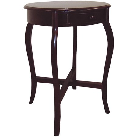 Ore International Round Cherry End Table Cherry Square Butterfly Table