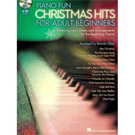 Hal Leonard Piano Fun - Christmas Hits for Adult Beginners Educational Piano Library Series Softcover Audio Online (Christmas Fun For Adults)