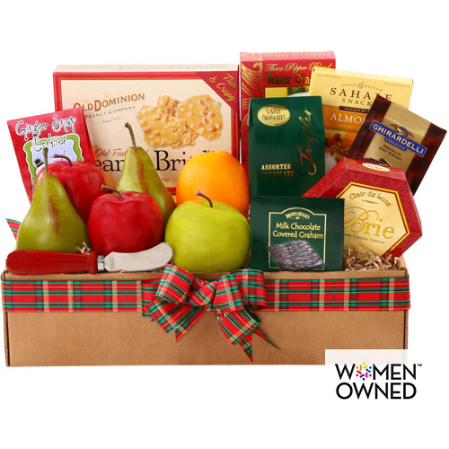 Alder Creek Fresh Fruit Gourmet Gift Basket