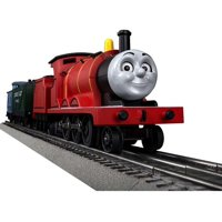 Lionel O Gauge Thomas & Friends James Electric Model Train Set with Remote and Bluetooth Capability