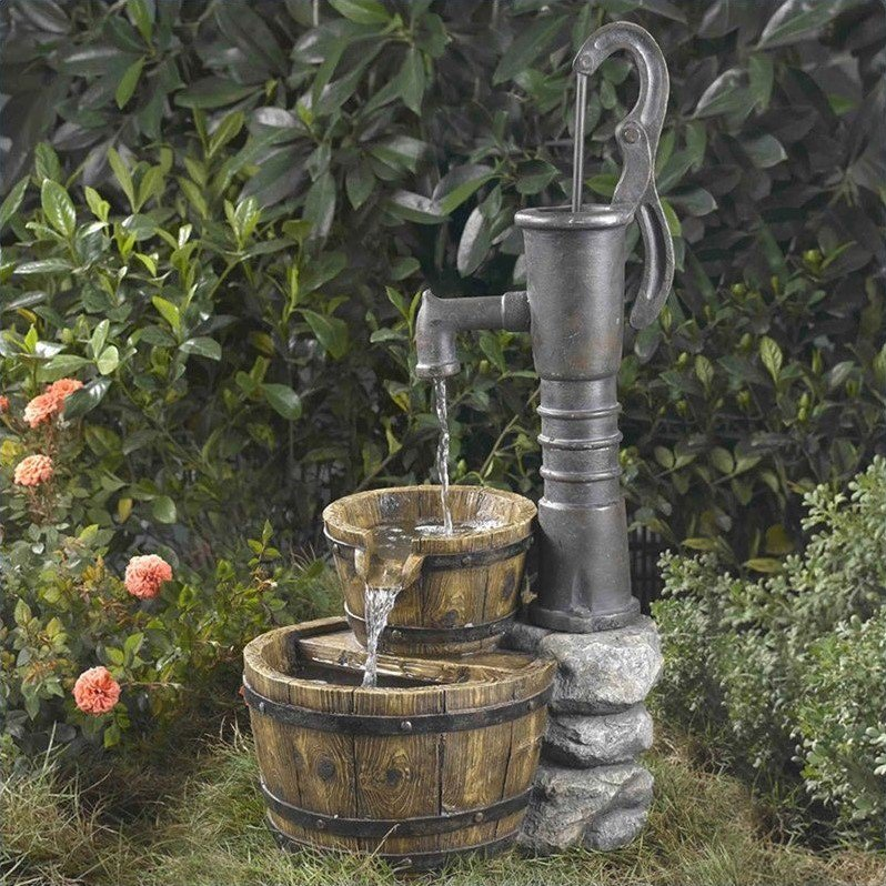 Jeco Old Fashion Water Pump Water Fountain by Jeco Inc.