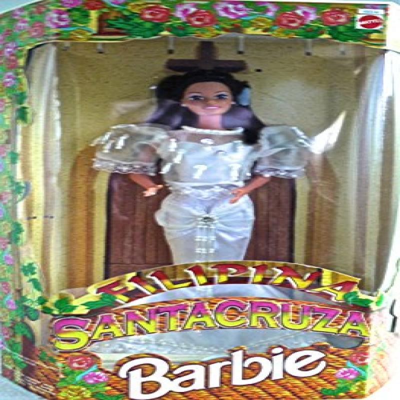 Mattel Philippine Barbie Santacruzan Reyna Justiza Filipina in Fitted White Dress (Limited Edition 1997) - RARE