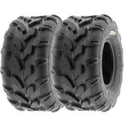 SunF ATV Tires A003 20x10-8 20x10x8 6 PR (Pair of 2)