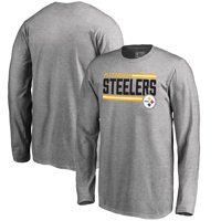 9c3014cff Product Image Pittsburgh Steelers NFL Pro Line by Fanatics Branded Youth  Iconic Collection On Side Stripe Long Sleeve
