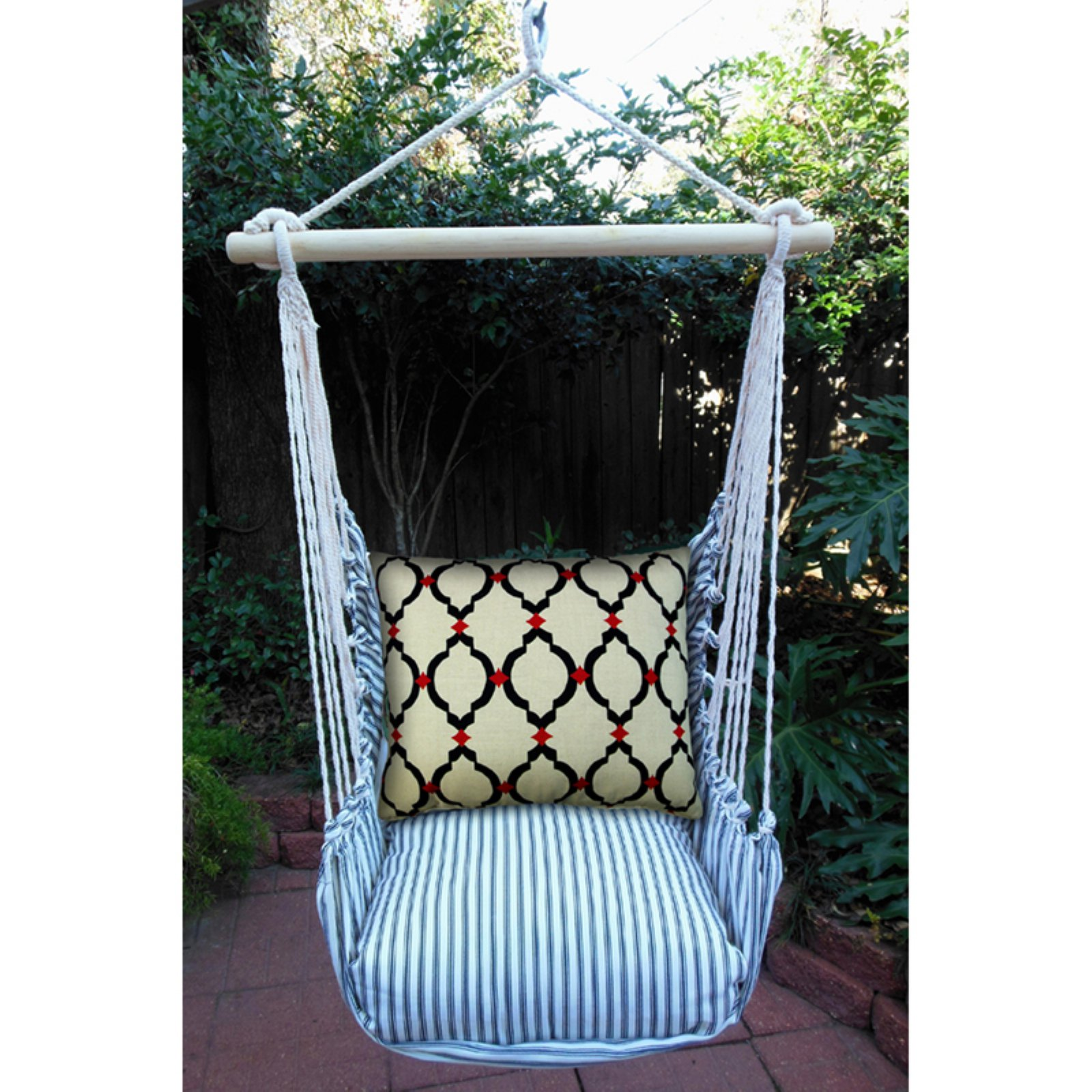 Magnolia Casual Piedmont Hammock Chair & Pillow Set