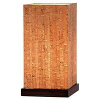Adesso Sedona 4083 Table Lantern - Walnut