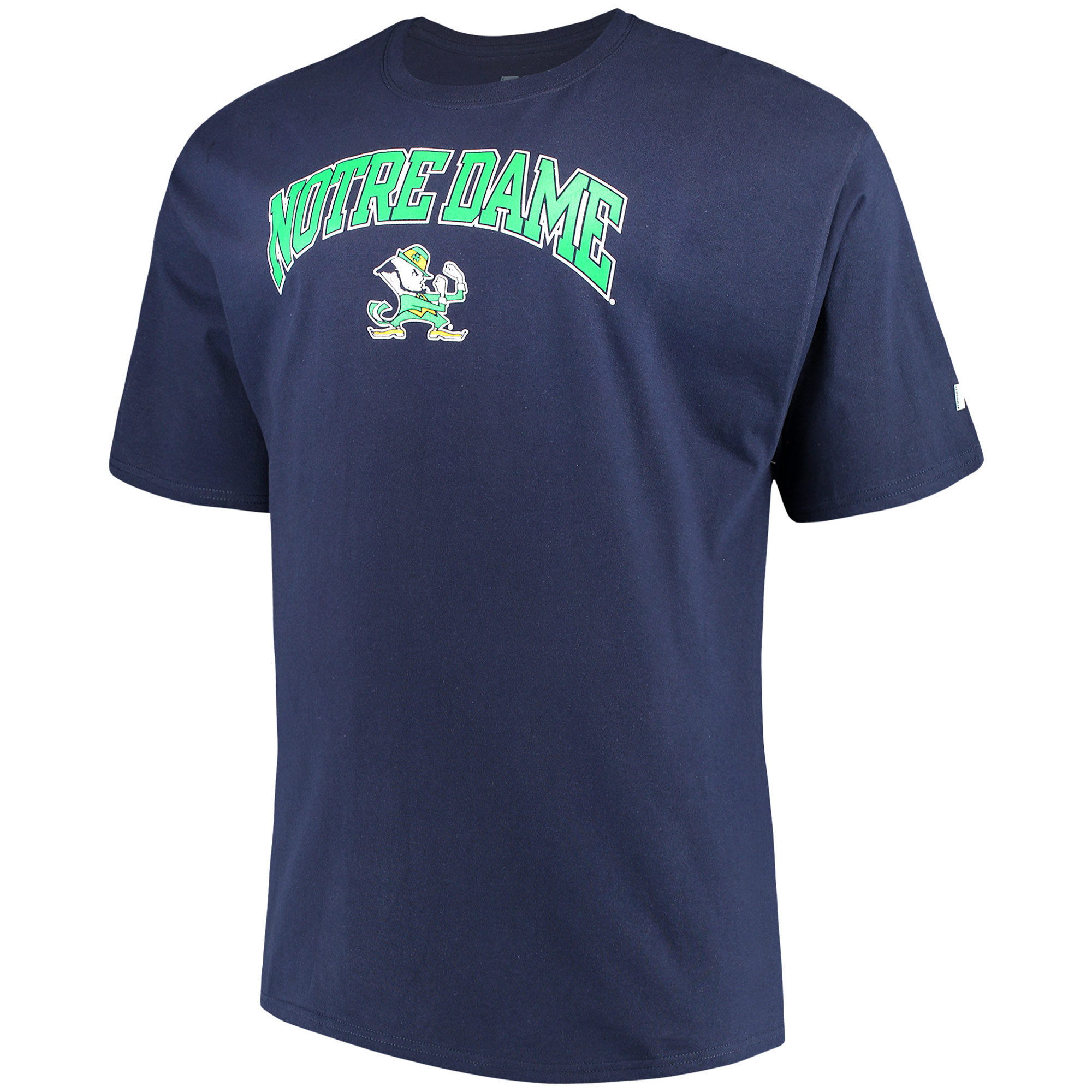 Men's Russell Navy Notre Dame Fighting Irish Big & Tall Classic Crew Neck T-Shirt