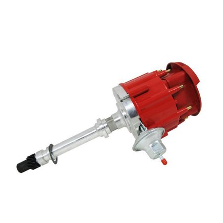 - TSP HEI DISTRIBUTOR- Chevy SB/BB, 262 - 454 Super Cap Red JM6500R