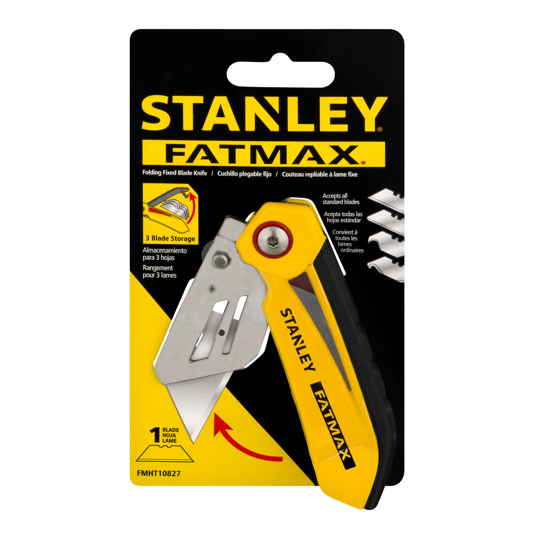 STANLEY FatMax FMHT10827 Folding Fixed Blade Knife