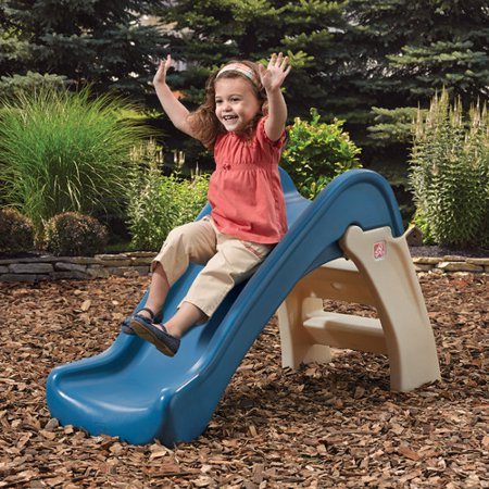 Step2 Play & Fold Junior Slide with Large Steps for