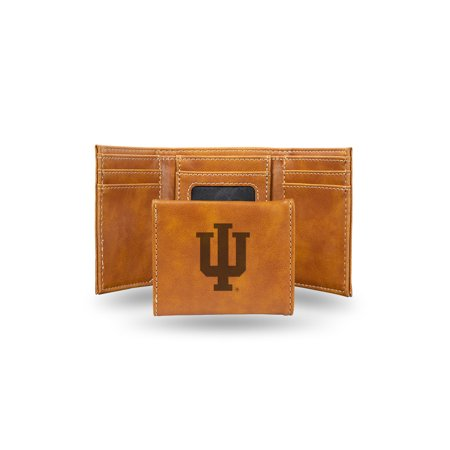 Indiana Hoosiers Laser Engraved Brown Trifold Wallet - image 1 of 1
