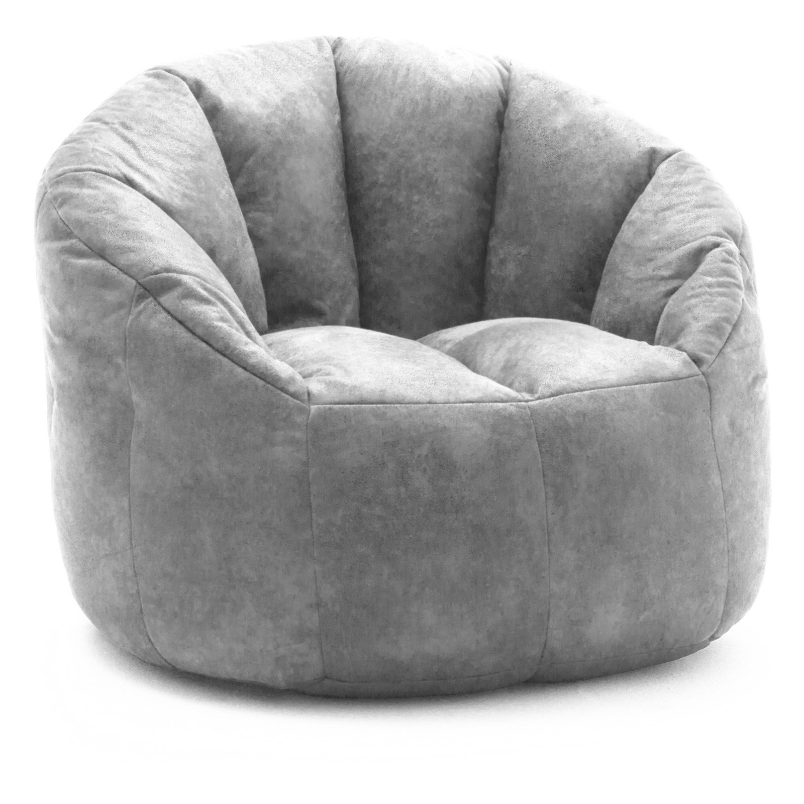 Lux By Big Joe Large Milano Blazer Leather Bean Bag