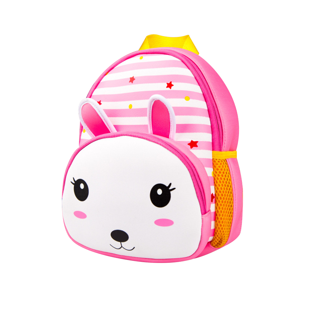 Mini Backpack, Coofit Cartoon Animal Lovely Cute Children Small Casual Neoprene Kindergarten School Backpack Travel Bag for Girls Boys Kids Toddler