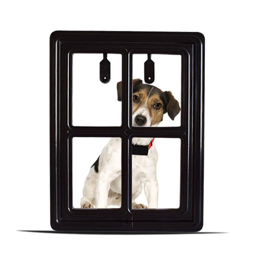 Pet Door For Screen Safe Magnetic Hanging Dogs Cats Door For Screen Gate