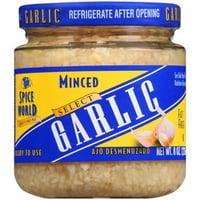 Spice World: Minced Garlic, 8 oz