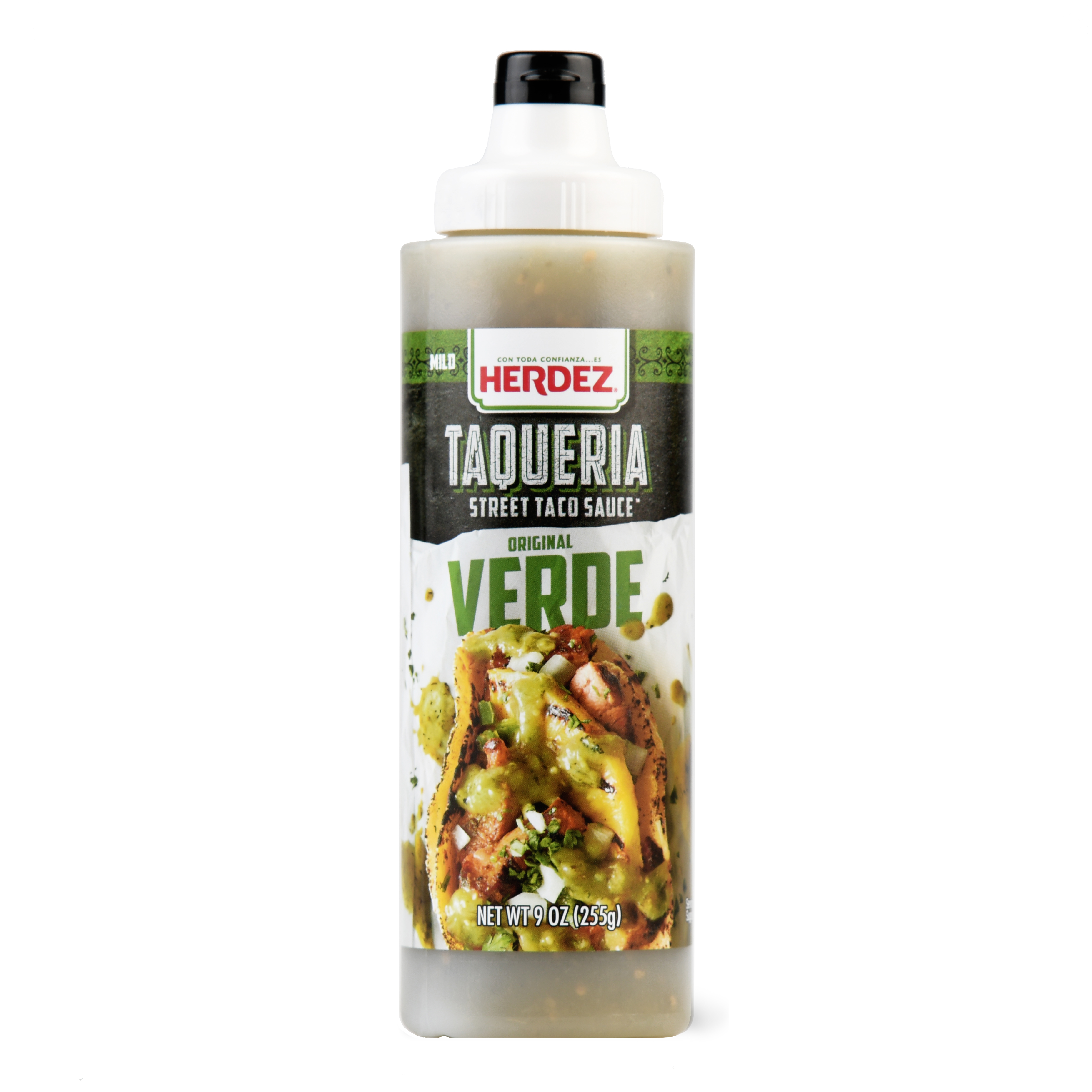 Herdez Taqueria Street Sauce Original Verde, 9 Ounce