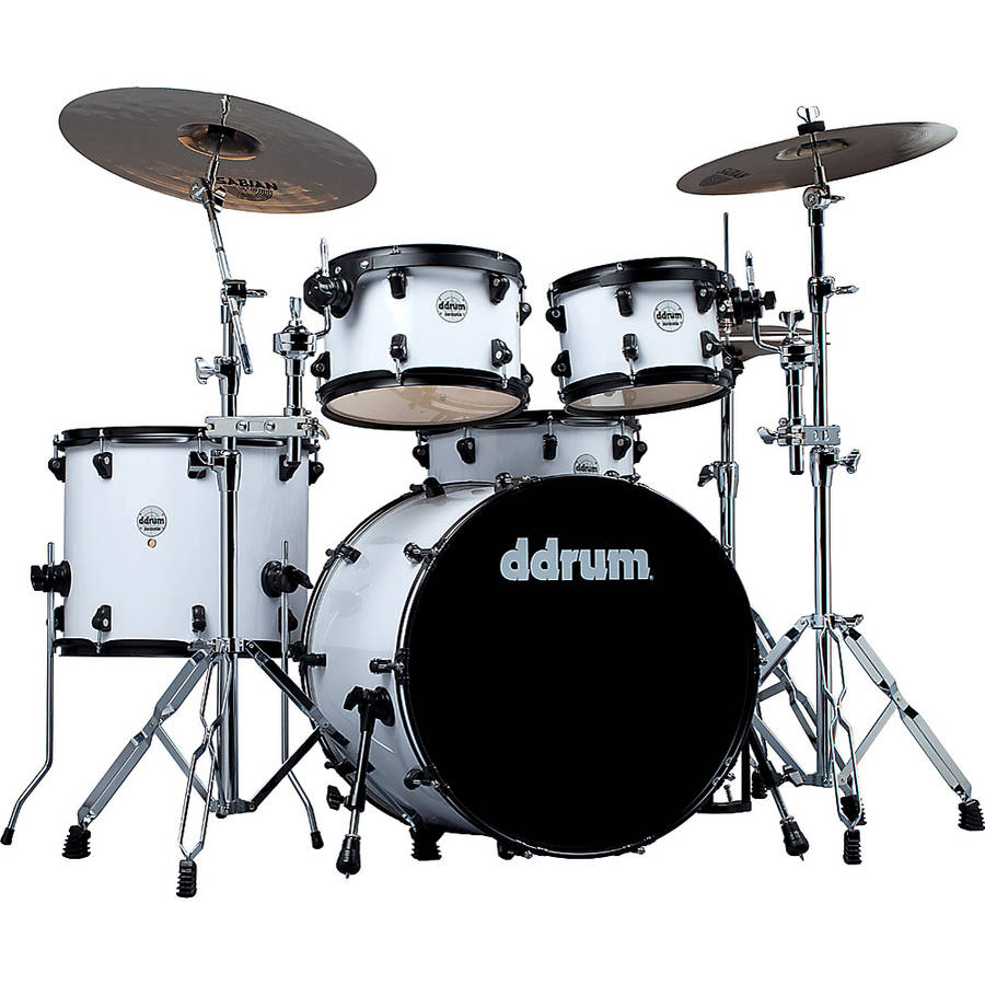 ddrum Journeyman 5-Piece Player Kit White by ddrum
