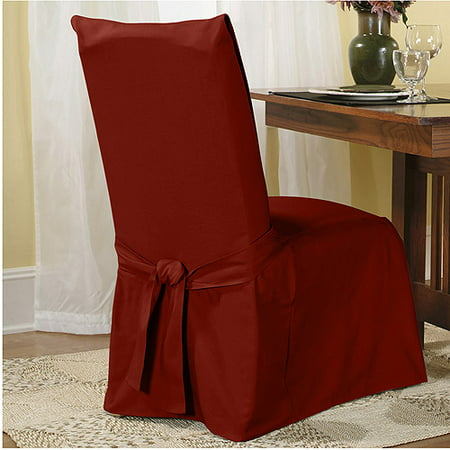 Sure Fit Cotton Duck Dining Chair Slipcover
