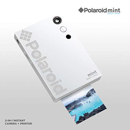 Polaroid Mint Instant Digital Camera (White) All-in-Bundle + Paper (20 Sheets) + Deluxe Pouch + Photo Album + 9 Unique Sticker Sets + Markers + Scissors + Border Stickers and So Much More - image 7 of 7