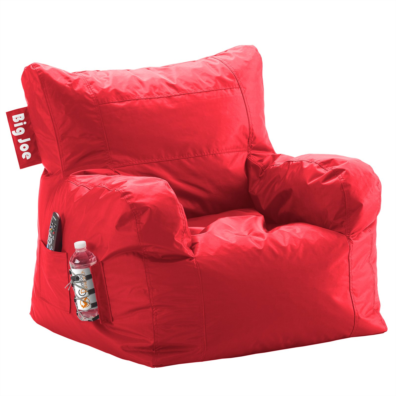 asher overstock by suede lounge christopher garden beanbag knight free today foot home shipping faux chair product