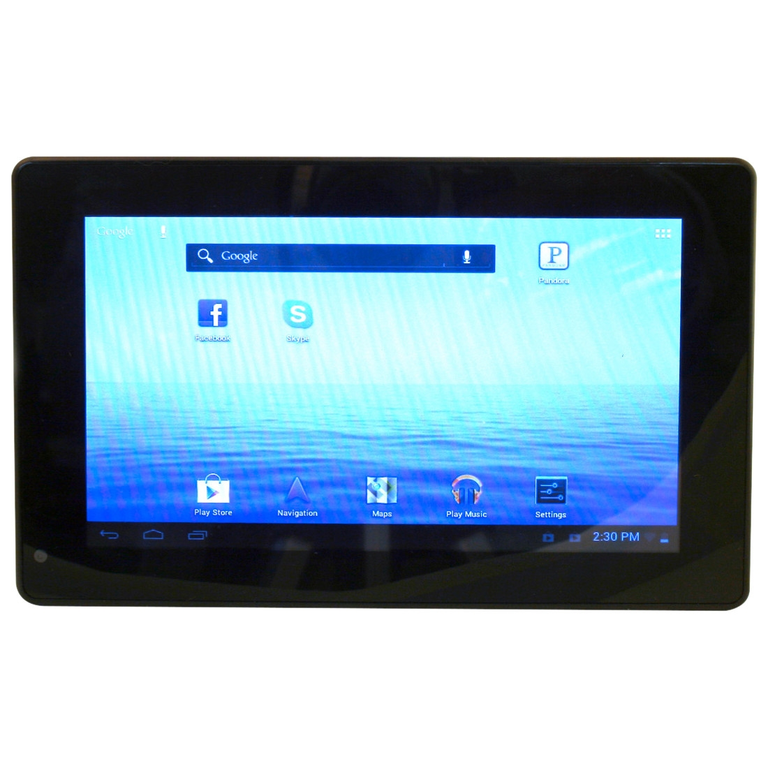 "Yifang NEXT7P12 with WiFi 7"" Touchscreen Tablet PC Featuring Android 4.0 (Ice Cream Sandwich) Operating System, Black"