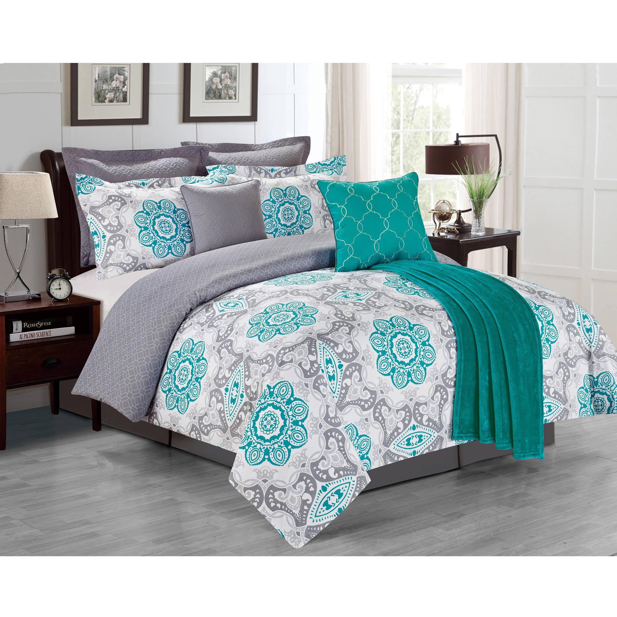 Sunrise 8 Piece Comforter Set Walmart Com