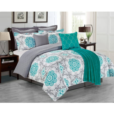 Sunrise 8 Piece Comforter Set Walmart Com