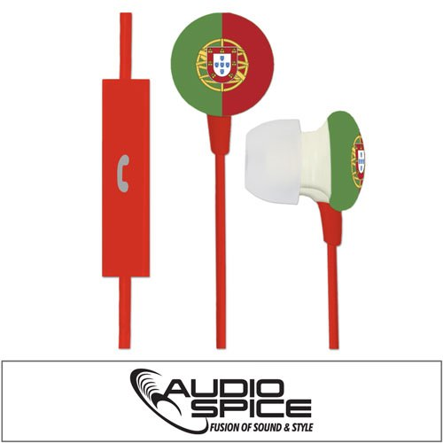 Portugal Ignition Earbuds + Mic