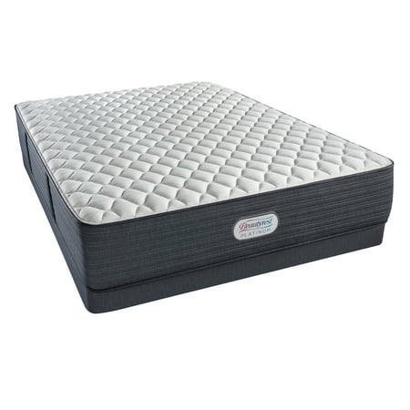 Beautyrest Platinum Spring Grove Extra Firm Low Profile Mattress Set - In Home White Glove Delivery