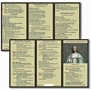 Catholic Mass Prayer and Responses Pocket Card