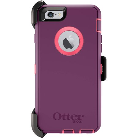 the latest 11c06 4d1d6 iPhone 6 Otterbox defender case for apple iphone 6, crushed damson