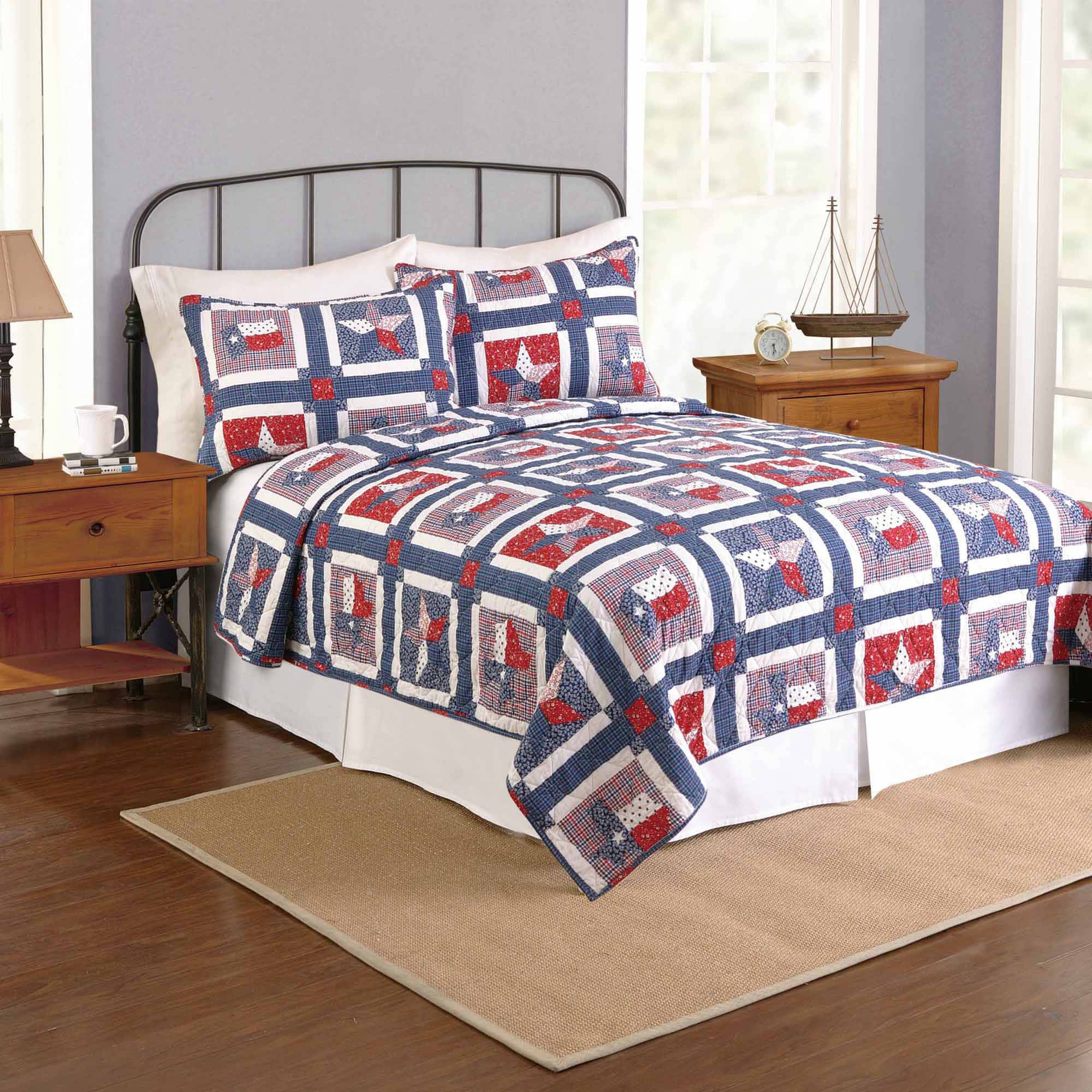 Better Homes and Gardens Star of Texas Twin Quilt by KRISS