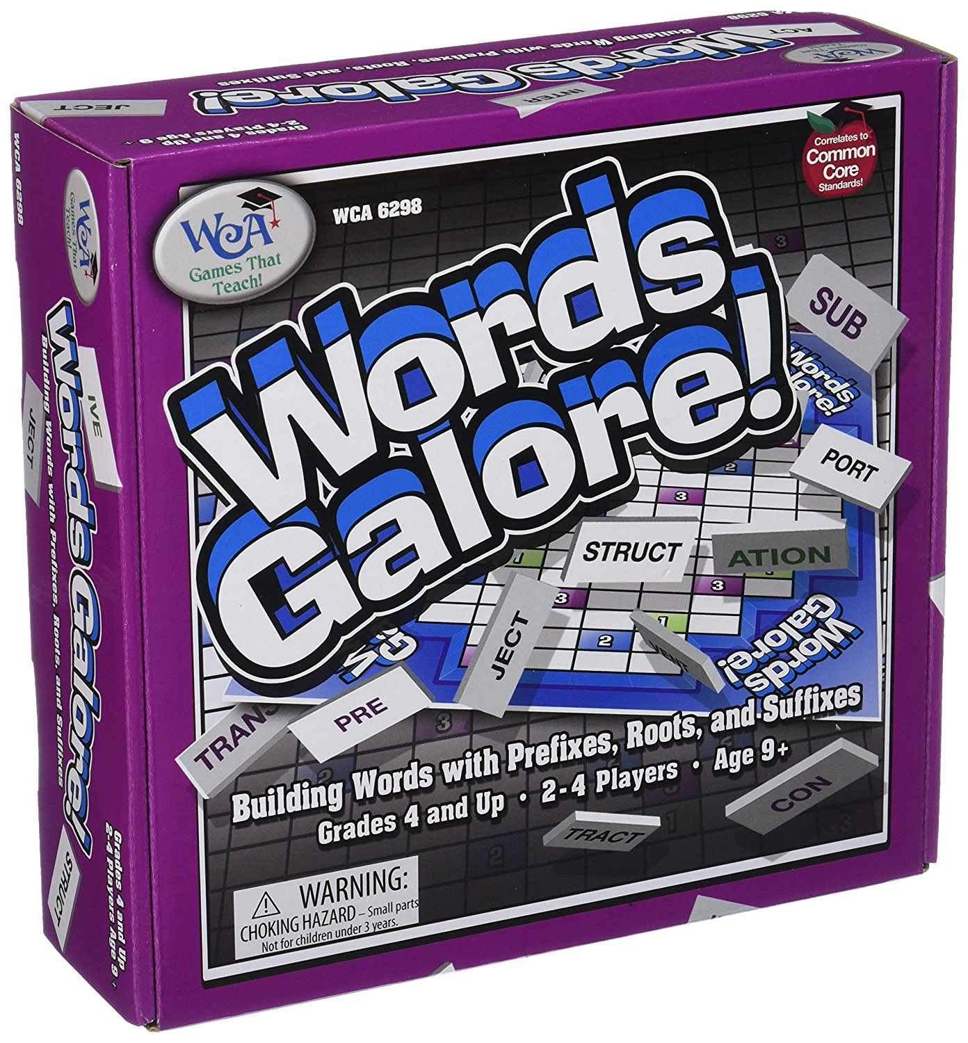 WCA6298 - WORDS GALORE