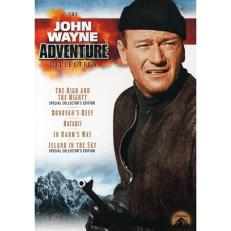The John Wayne Adventure Collection (The High and the Mighty / In Harm's Way / Island in the Sky / Hatari! / Donovan's