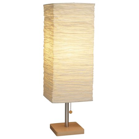 Adesso 8021 Dune Table Lamp](Rice Paper Lamp)