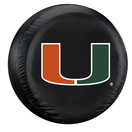 NCAA Miami Hurricanes Large Tire Cover ()