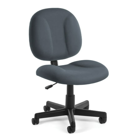 OFM Comfort Series Model 105 Armless Task Office Chair, - Back Chair Green