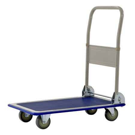 Muscle Carts FPC3623 Heavy Duty 660 lb Capacity Folding Platform Cart