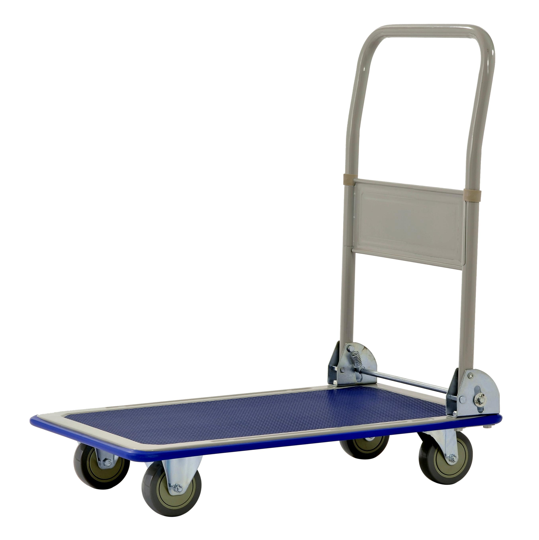 Muscle Carts FPC3623 Heavy Duty 660 lb Capacity Folding Platform Cart
