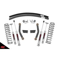 """Rough Country 3"""" Lift Kit compatible w/ 1984-2001 Jeep Cherokee XJ w/ N3 Shocks Suspension System"""