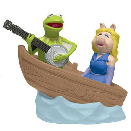 Kermit Serenading Miss Piggy In Boat Salt and Pepper Shakers Westland Giftware (Kermit Ms Piggy)