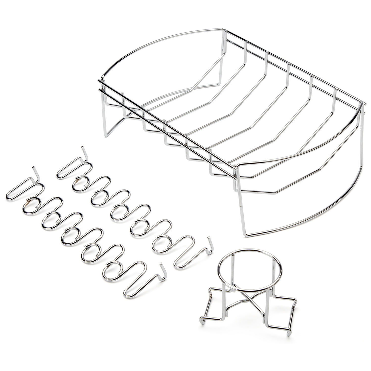 Cuisinart 4 In 1 Bbq Basket With Chicken Wing Rack