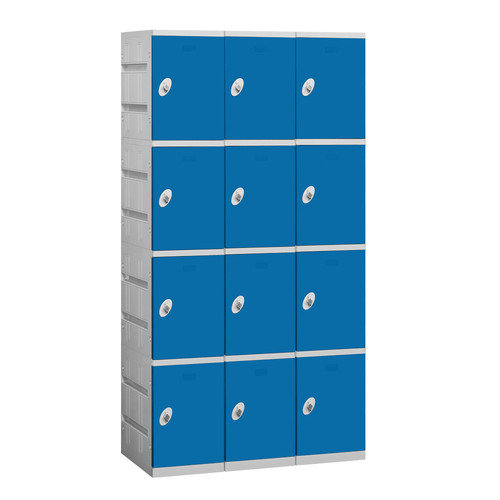 Salsbury Industries 4 Tier 3 Wide Contemporary Locker