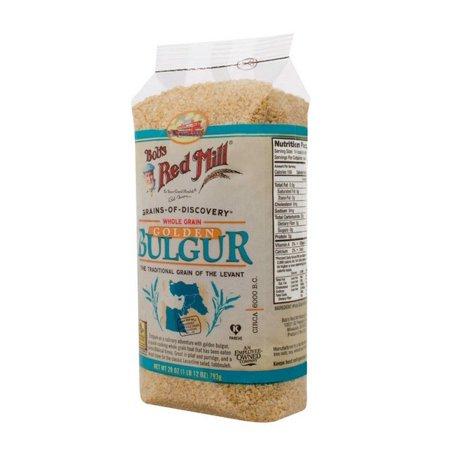 Bob's Red Mill Golden Bulgur / Soft White Wheat Ala - 28 Oz - Pack of 4 (Mall Golden)