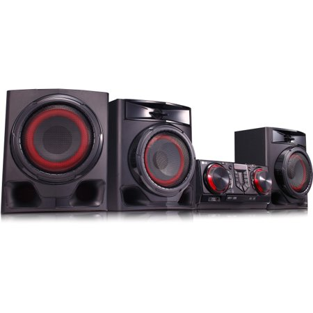 LG 720W Hi-Fi Mini Shelf System - CJ45 ()