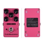 Aural Dream True Modulation Guitar Effect Pedal 8 Sound Modes Including Flanger/Chorus//Tremolo/Doubling/Phase/Ring/Pitchshift Aluminum Alloy Shell with True Bypass