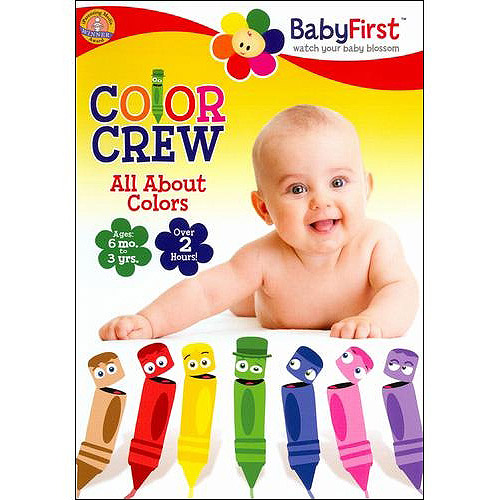 BabyFirst: Color Crew All About Colors by Mill Creek
