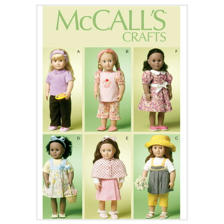 18 (46cm) Doll Clothes-One Size Only -*SEWING PATTERN*
