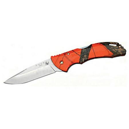 """Buck Knives 0285CMS9 Bantam, 3-1/8"""" Drop Point Blade, Mossy Oak Blaze Orange"""
