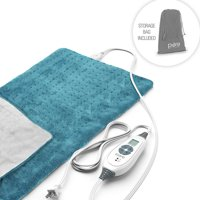 Pure Enrichment Fast-Heating Heating Pad with Storage Bag